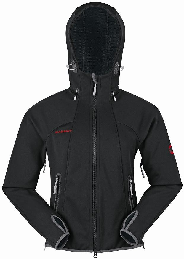 mammut softshell jacke ultimate hoody gr xl damen schwarz. Black Bedroom Furniture Sets. Home Design Ideas