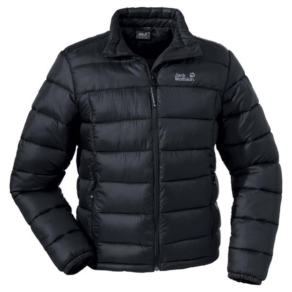 jack wolfskin daunenjacke icecamp jacket herren schwarz. Black Bedroom Furniture Sets. Home Design Ideas
