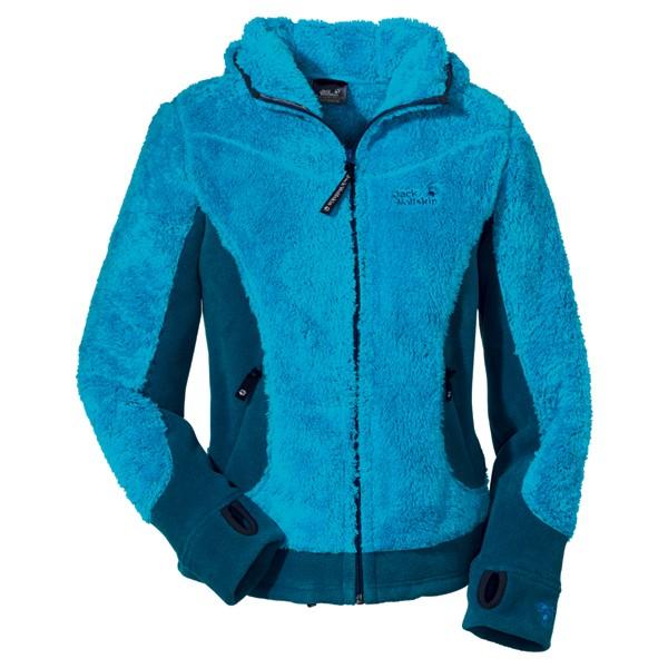 jack wolfskin fleecejacke kodiak jacket women atlas blue. Black Bedroom Furniture Sets. Home Design Ideas