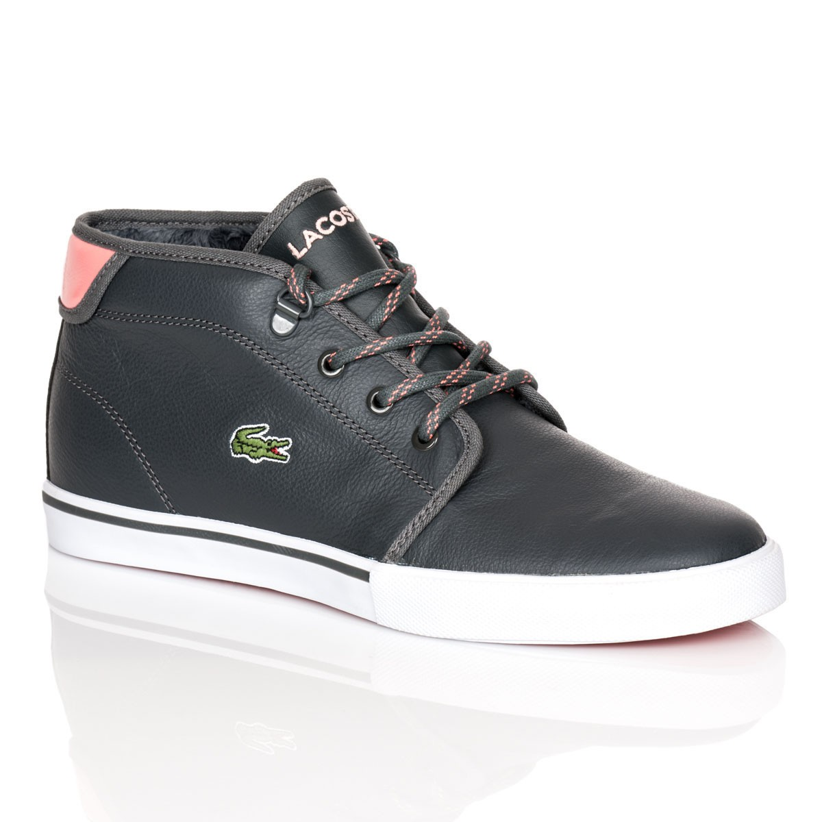lacoste damen sneaker ampthill nso gr 36 freizeitschuhe damen sneakers schuhe ebay. Black Bedroom Furniture Sets. Home Design Ideas